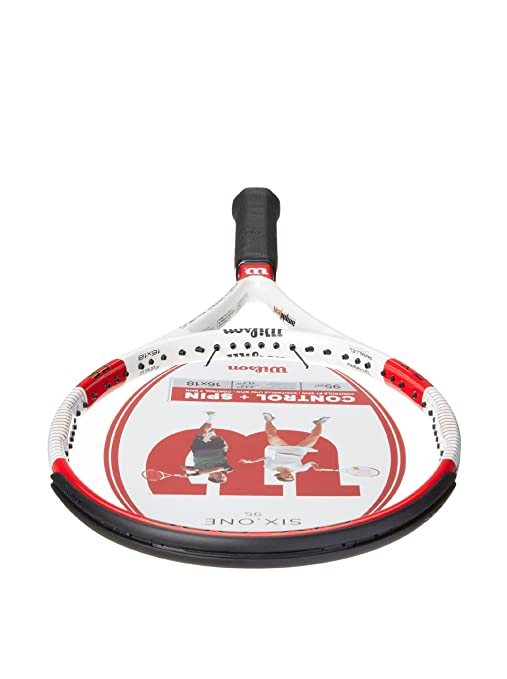 One 95 16 x 18 String Pattern Tennis Racquet, 4.375 : Tennis Rackets : Sports & Outdoors
