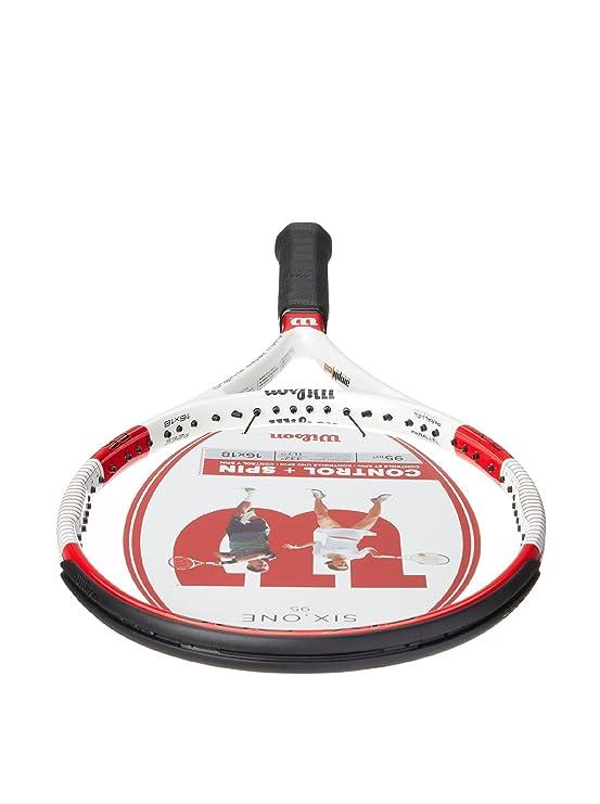 Amazon.com : Wilson Six.One 95 16 x 18 String Pattern Tennis Racquet, 4.375 : Tennis Rackets : Sports & Outdoors
