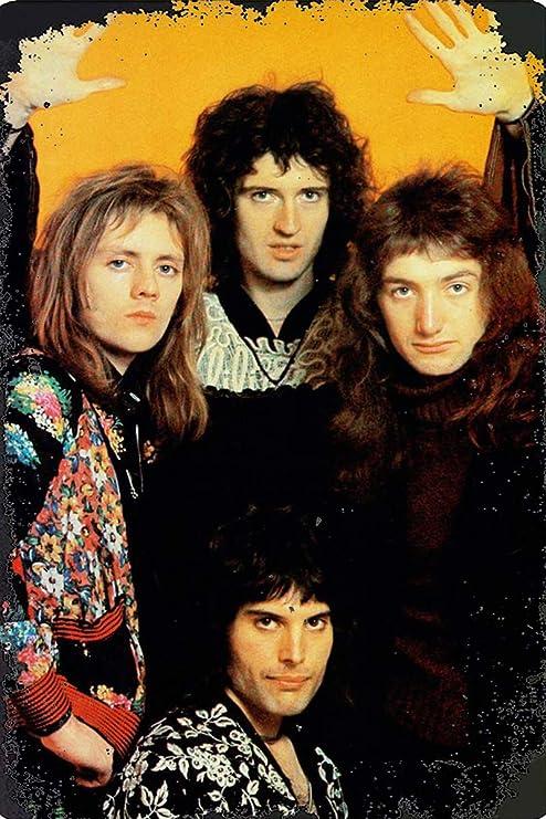 Queen Rock Póster de Pared Metal Creativo Placa Decorativa ...