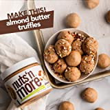 Nuts 'N More Almond Butter Spread, All Natural High Protein Nut Butter Healthy Snack, Omega 3's, Antioxidants, Low Carb, Low Sugar, Gluten-Free, Non-GMO, no preservatives,16 oz Jar