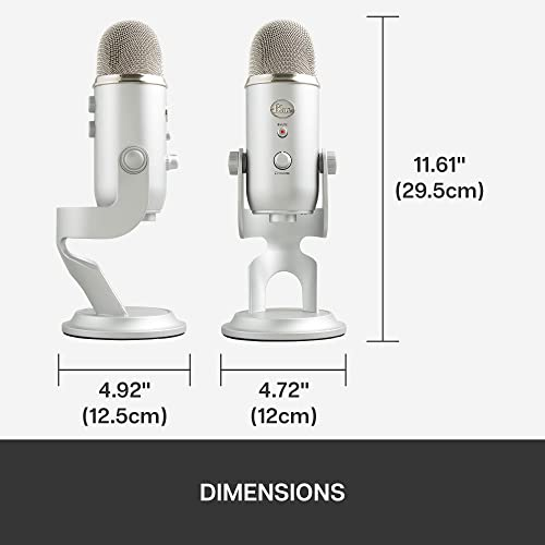 Blue Yeti USB Mic for Recording & Streaming