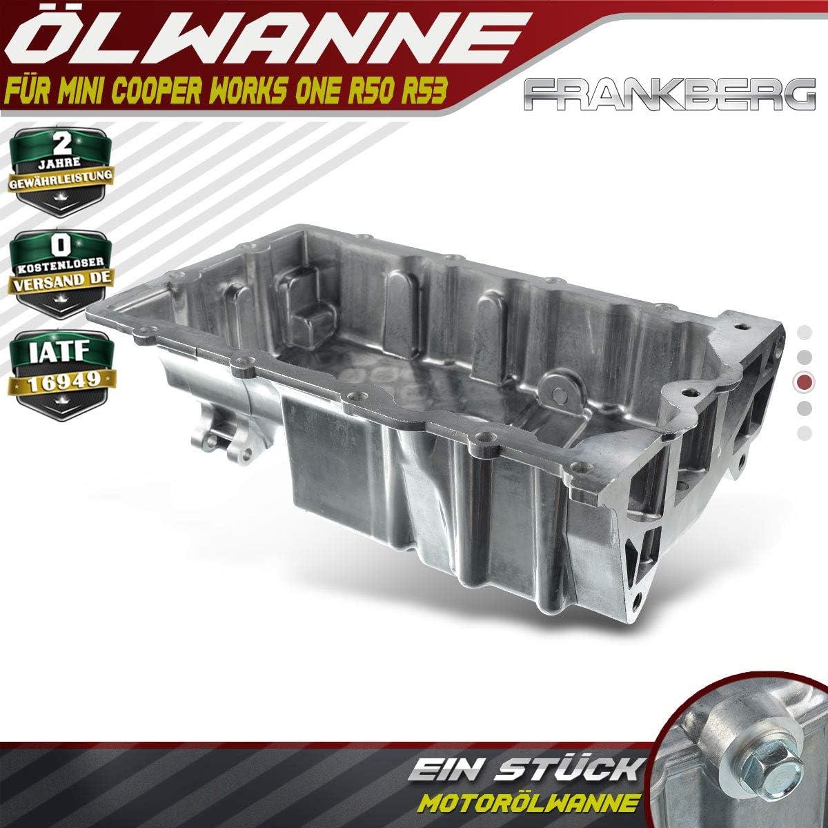 11137513061 Aluminium Oil Pan for Cooper One Works R50 R52 R53 I4 1.6L Petrol 2001-2007