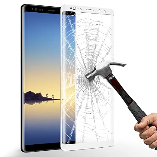 21 opinioni per Pellicola Protettiva Samsung Galaxy Note8, ikalula Copertura Completa Galaxy