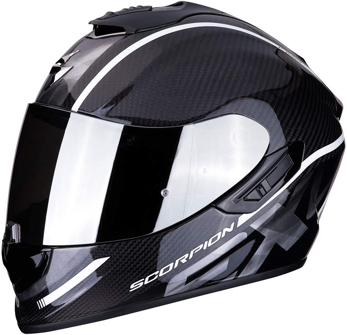 Schwarz//Blau S Scorpion 14-276-66-03 Motorrad Helm