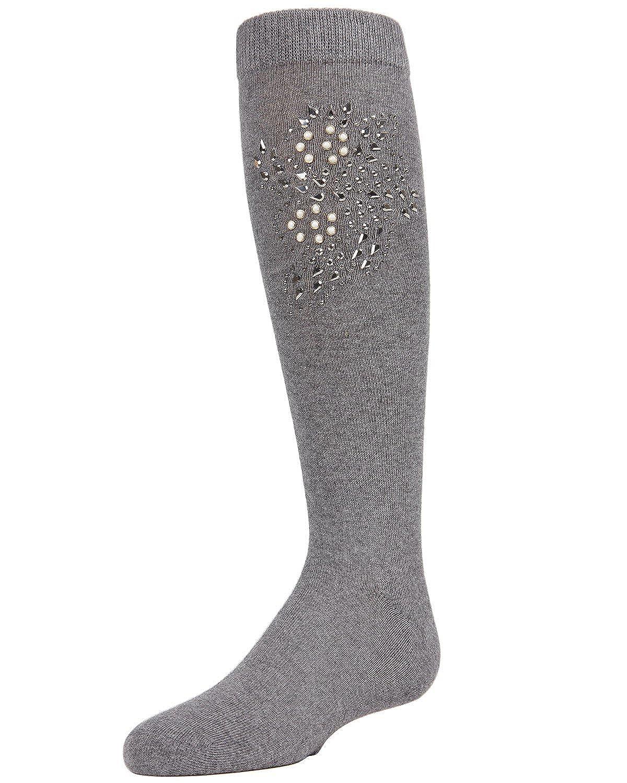 256f381ed4c Amazon.com  MeMoi Rhinestone Knee High Socks for Girls
