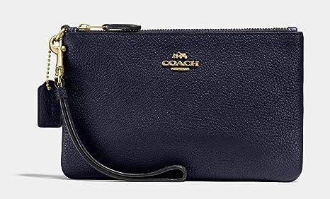 COACH Coach Tasche 22952 LINAV Monedero, 19 cm, Azul (Li ...