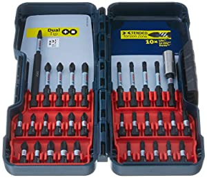 Bosch 32 Piece Impact Tough Screwdriving Bit Set SBID32