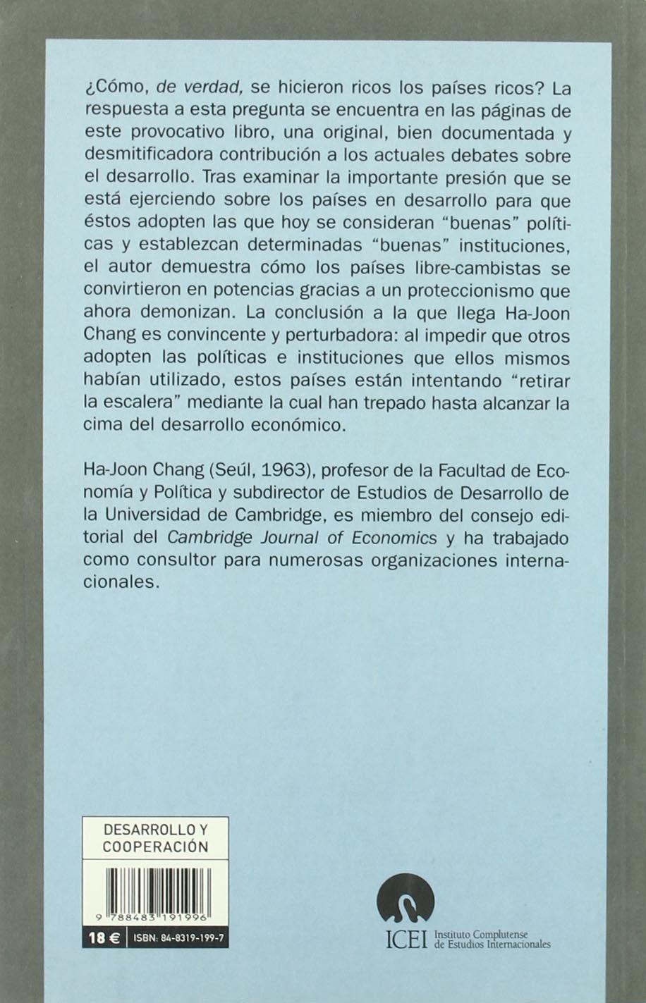 Retirar La Escalera (Colección Mayor): Amazon.es: Ha-Joon Chang: Libros