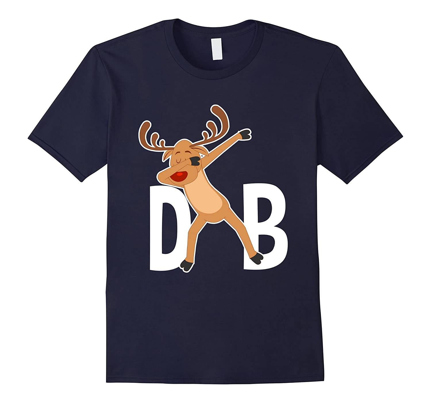Reindeer Dabbing Funny & Cute Christmas Holiday Gift T-Shirt