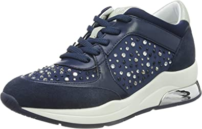 postura Corte Abierto  Liu Jo Shoes Women's Karlie 12 - Sneaker Navy Low-Top: Amazon.co.uk: Shoes  & Bags
