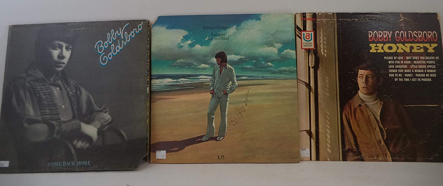 Bobby Goldsboro Lot of 3 Vinyl Record Albums Come Back Home and more