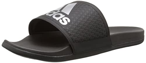 new style a56bd 3d149 Adidas Men s Adilette SC Plus SU M Sandals,Black Silver Black,11