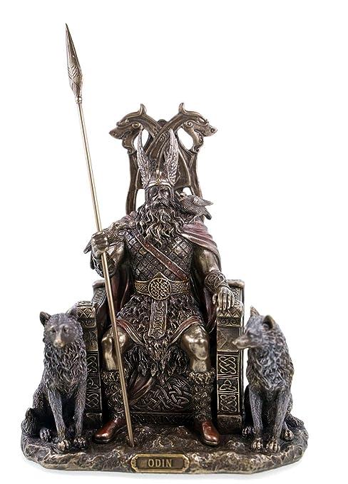 Odin germanisch gott wodan figurine bronz/é 2011.