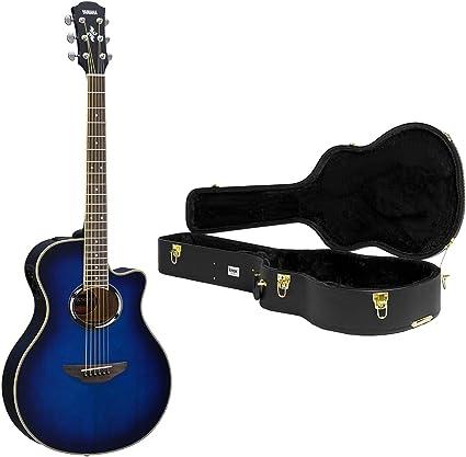 Yamaha apx500iii – Guitarra acústica/eléctrica azul con Knox ...