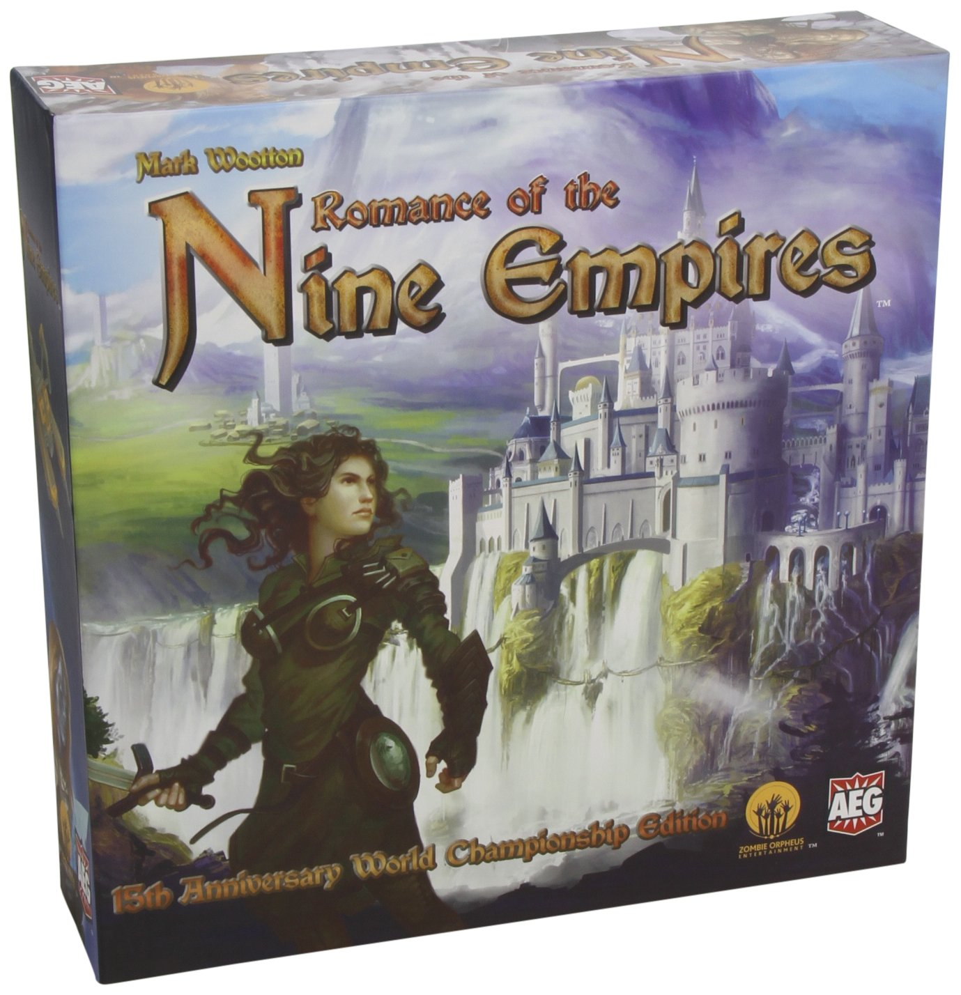 Romance of The Nine Empires Card Game