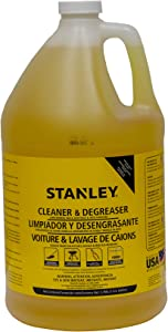 Stanley STCD0004 Concrete and Degreaser Detergent, Yellow