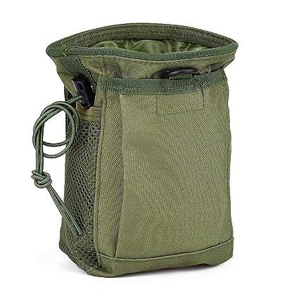 e69bca38da9f KOOPEEN Tactical Molle Drawstring Magazine Dump Pouch Outdoor Ammo Pouch  Military Adjustable Belt Utility Fanny Hip Holster Bag