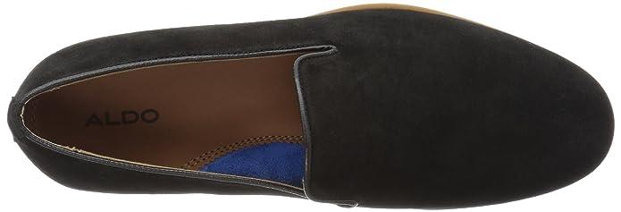 Amazon.com | ALDO Mens TRALISIEN Loafer Black Suede 10- D US | Loafers & Slip-Ons