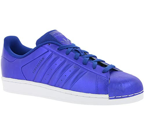 super popular d0118 ec3f9 adidas Originals Superstar Sneaker Blue BB4876, Size 40