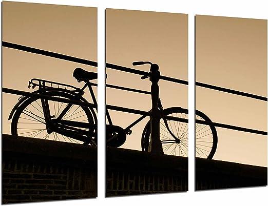 Poster Fotográfico paisaje Bicicleta de Paseo Atardecer, Bici ...