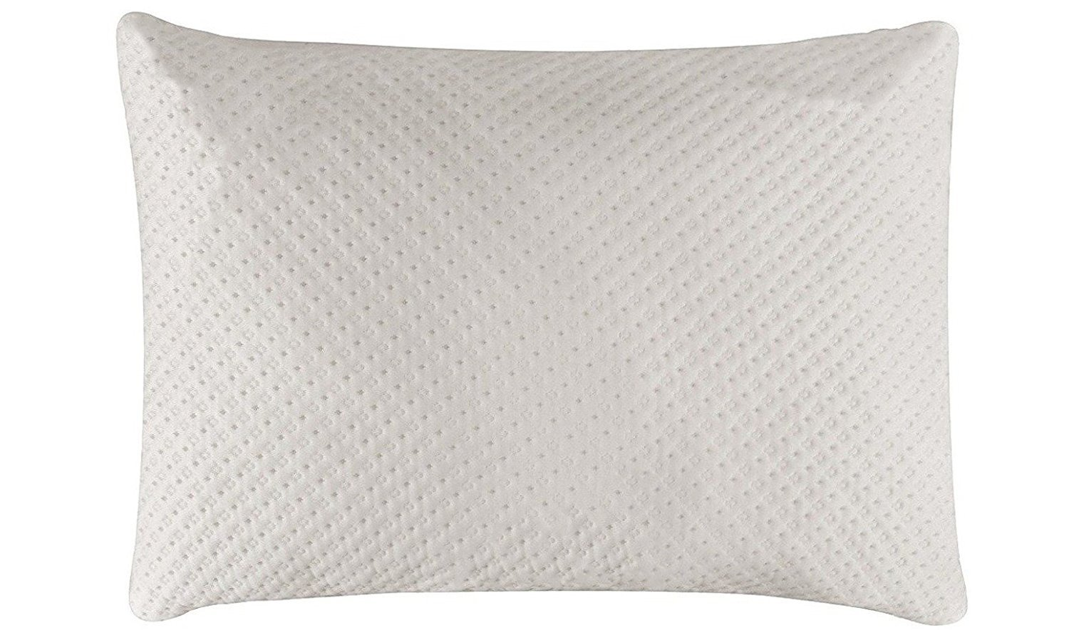 Premium Shredded Memory Foam Touch Comfort Pillow - Queen/Standard Size Bed Pillow - 23.6'' x 15.7''