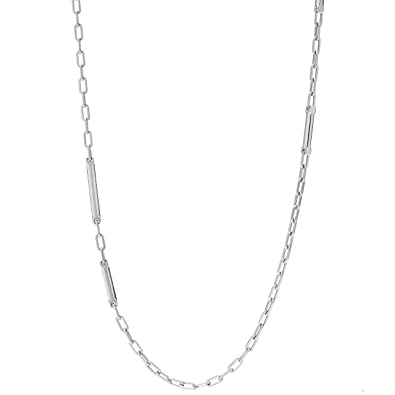 collier homme cuir fossil