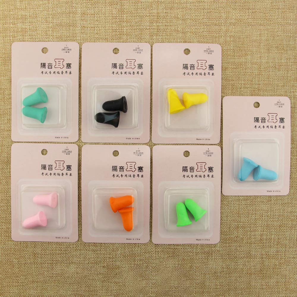 Foam Earplug, 34dB Highest NRR, Each Pairs with Box-Packed, for Hearing Protection, Noise Reduction, Hunting Season, Sleeping, Snoring, Working, Shooting, Travel, Concert,60pairs Color Random