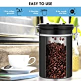 Airtight Coffee Canisters - Sailnovo Stainless