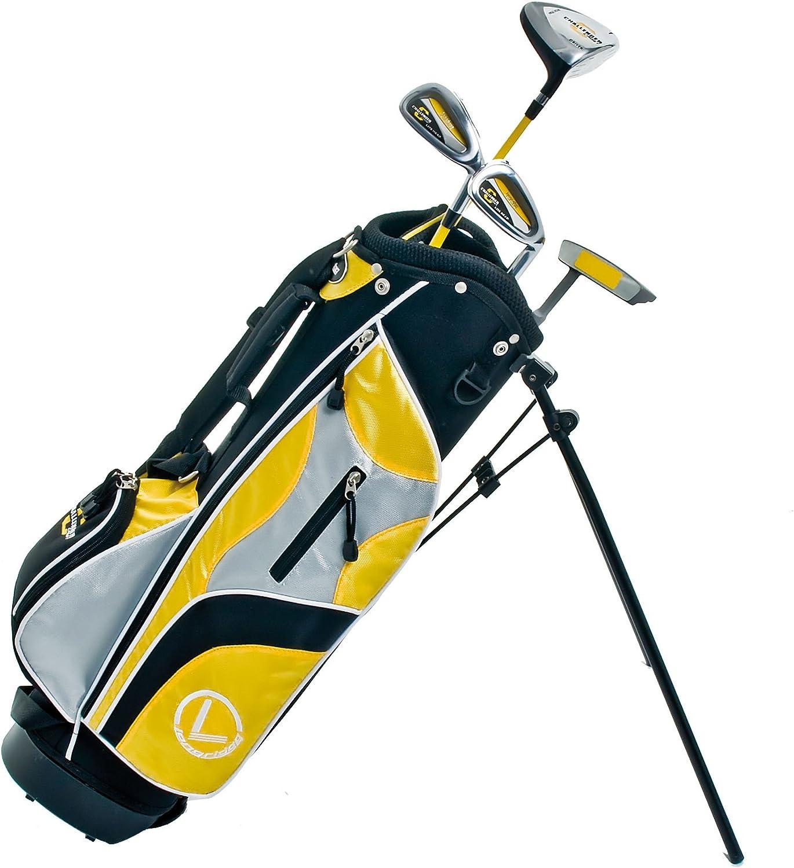 Longridge Junior Challenger - Paquete de Golf, 4 Palos para niños más de 4 años