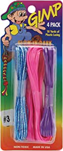Gimp Plastic Lacing 4-1/2 Yard 4-Pack