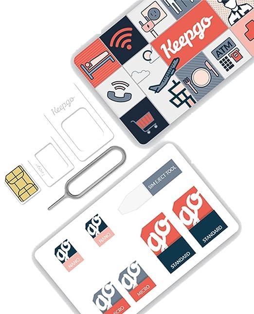 Keepgo - Tarjeta SIM para Reloj Inteligente, GPS para niños ...