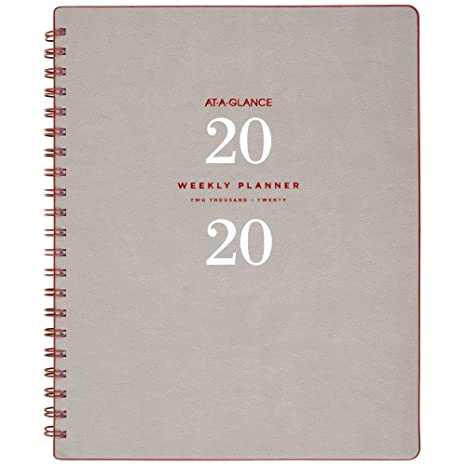 AT-A-GLANCE 2020 Weekly & Monthly Planner, 8-1/2