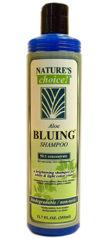 Amazon.com: Natures Choice Aloe Bluing Shampoo 50:1 11.7 fl. oz.: Pet Supplies