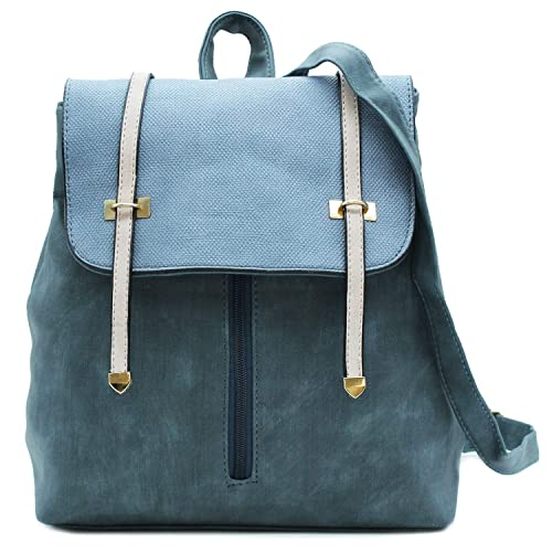 MISEMIYA - Bolsos mochila Bolsos para mujer mochila mujer mochilas de mujer SR-8568 - Azul: Amazon.es: Zapatos y complementos