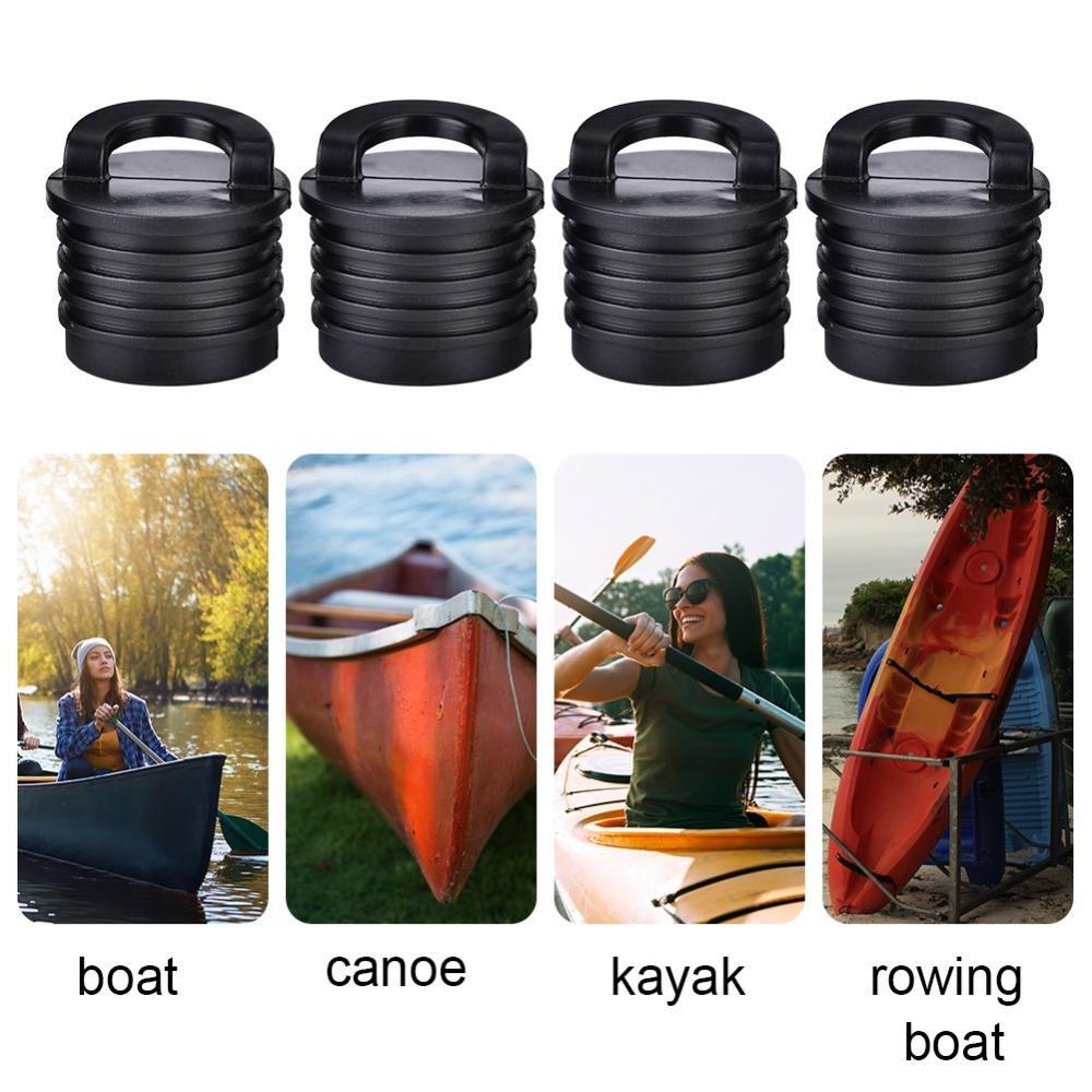 4 Pezzi Barca Canoa Kayak Scupper Tappo Tappi Fori di drenaggio Tappi di Ricambio Tbest