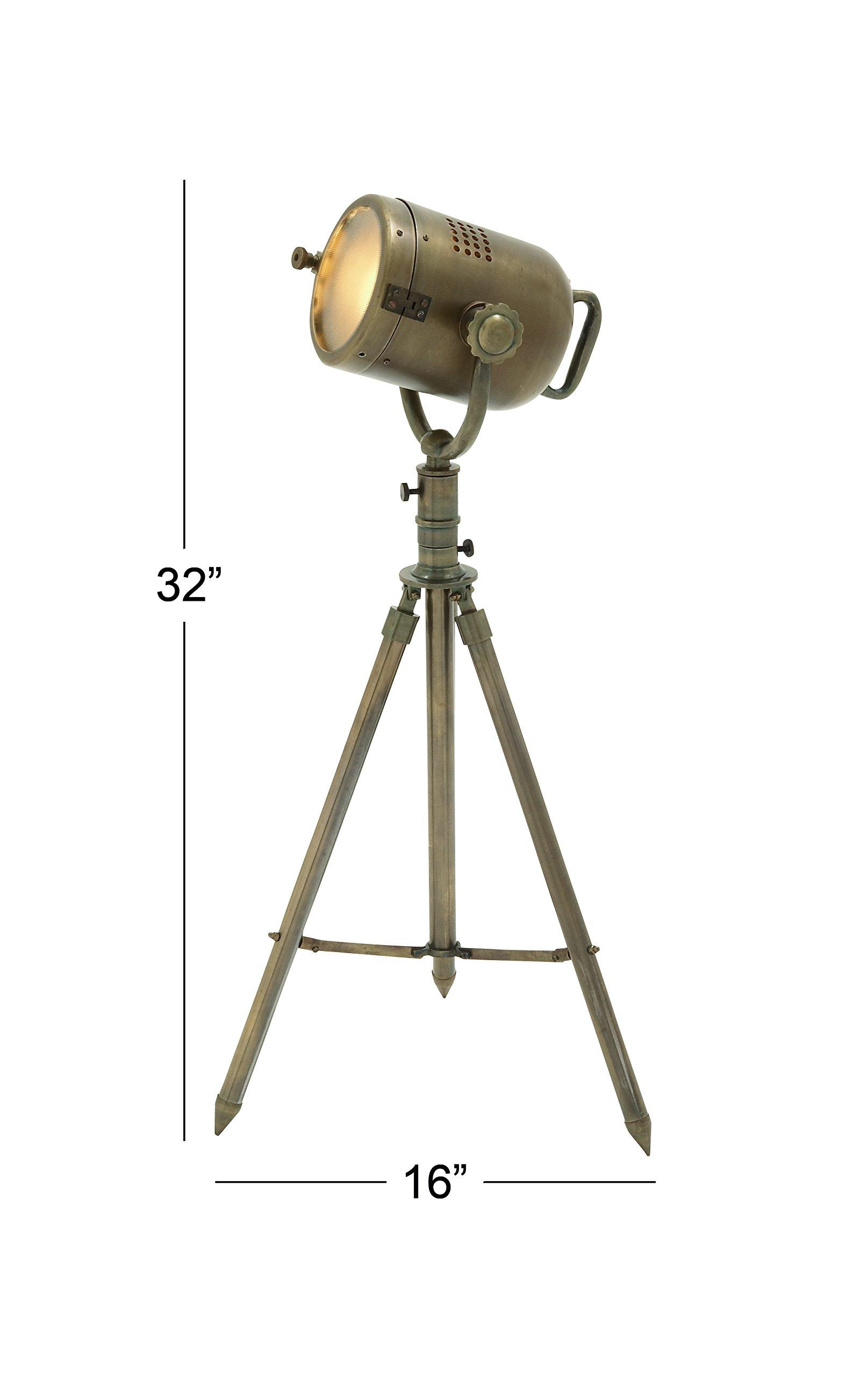Deco 79 28452 Aluminum Spot Light 32'' H