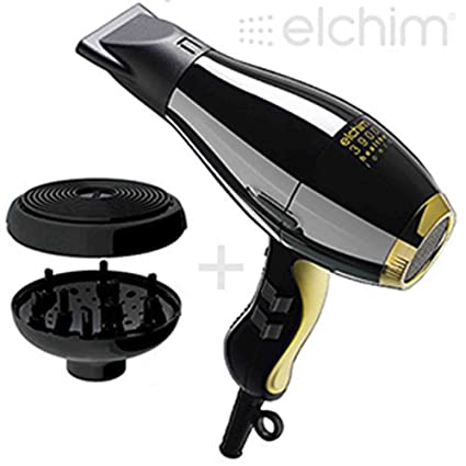 ELCHIM 3900 PHON HEALTHY IONIC BLACK GOLD Y con DIFUSOR, DISEÑO DE CAPULLO
