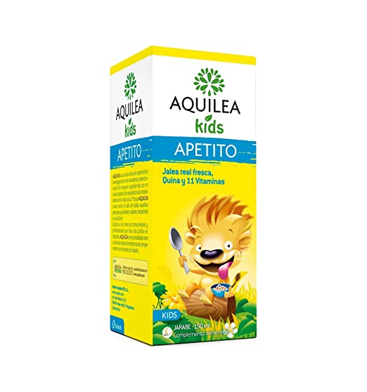 Amazon.com: Aquilea Kids Appetite 150ml - Helps to Stimulate Childrens Appetites & Gives Them Extra Energy & Vitality - Improves Your Kids Apetite & Well ...