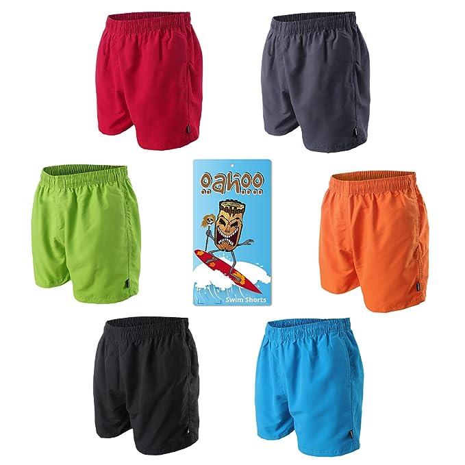 522b419ba624ee OAHOO Herren Badeshorts - Bermudashorts - Viele Trendige Farben und Größen  S-4XL: Amazon.de: Bekleidung