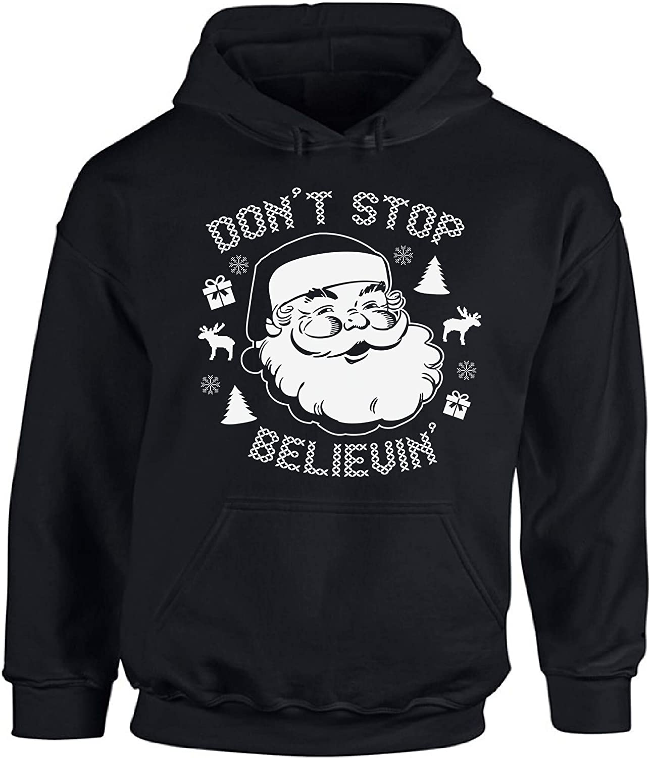 Awkward Styles Dont Stop Believin Christmas Tank Top