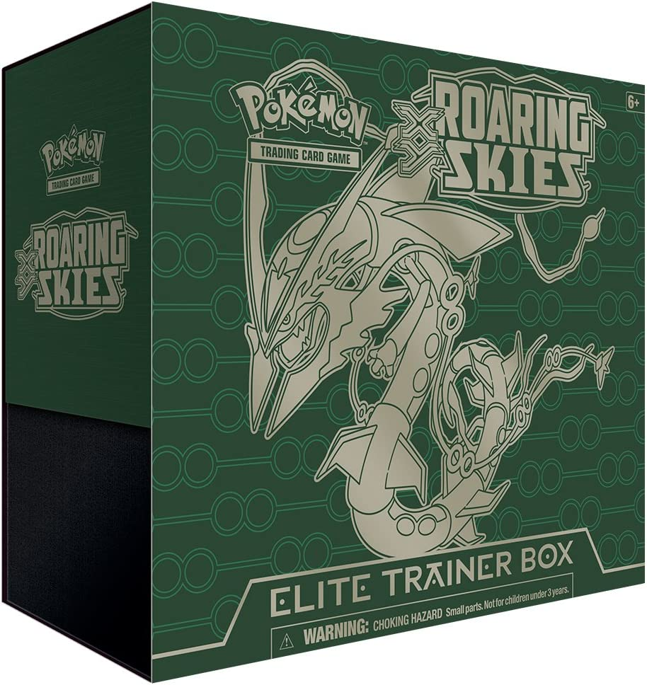 Pokemon XY 6 Roaring Skies Elite Trainer Box - Caja de sobres de ...
