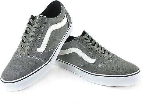 Vans Schuh TNT 5 Grey/White , Größe:42