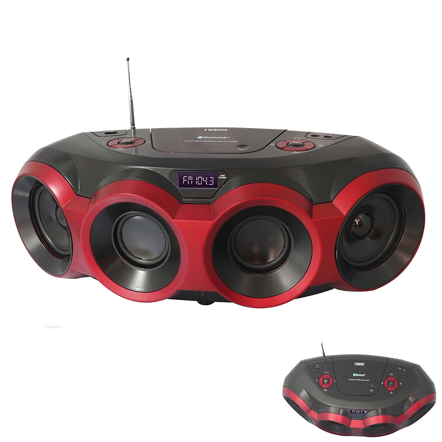 9high Performance Portable Mp3 Supersonic Speaker With Usb Sd Aux And Multi Band Radio Led Display Recording Function Best Buy furthermore 231360692297 together with 46354349 besides Home Stereo Cd Player Ebay likewise 231880593017. on naxa portable cd player