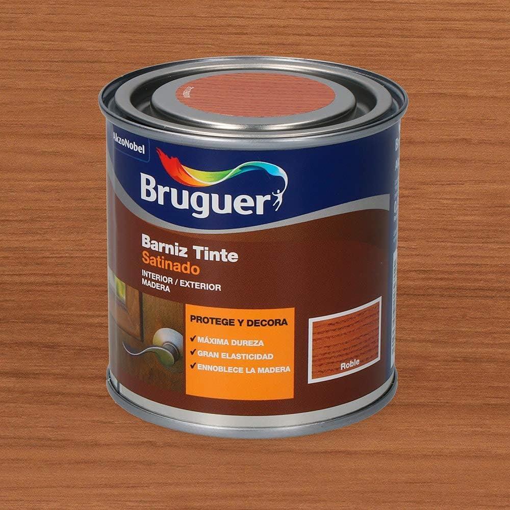 Bruguer Barniz Tinte BTE.BRUGUER Roble 750 ML, Negro ...
