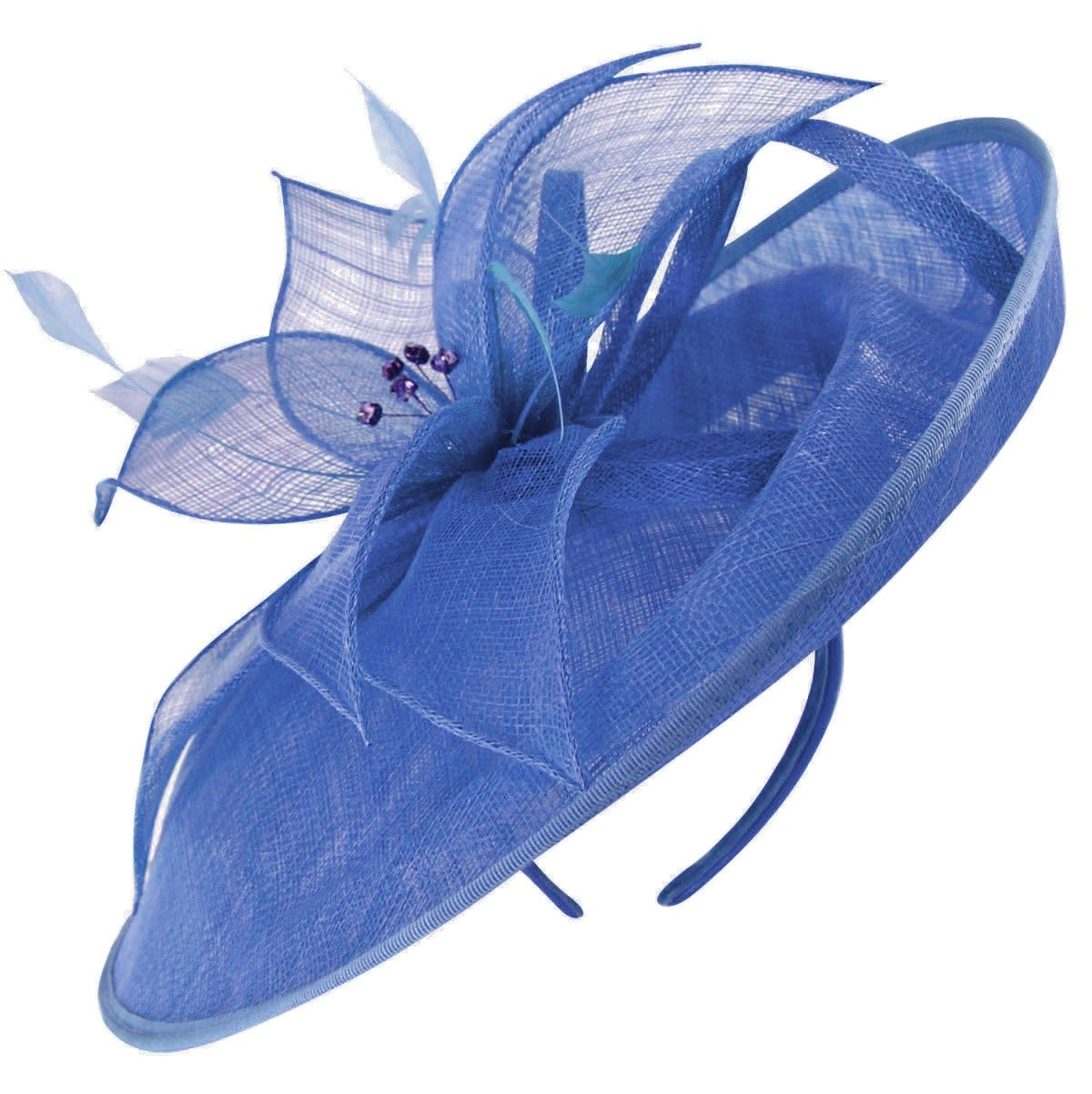 Failsworth Millinery Events Disc Headpiece In Regatta, Size: One Size by Failsworth Millinery