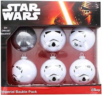Star Wars 599386031 - Bolas de Navidad Imperio (6 uds): Amazon.es: Juguetes y juegos