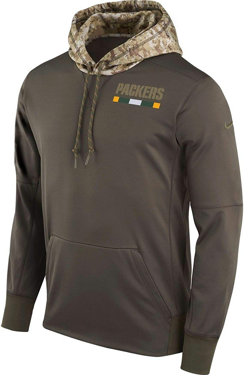 NFL Green Bay Packers Hoodies Salute to Service Sideline Performance Sweatshirts