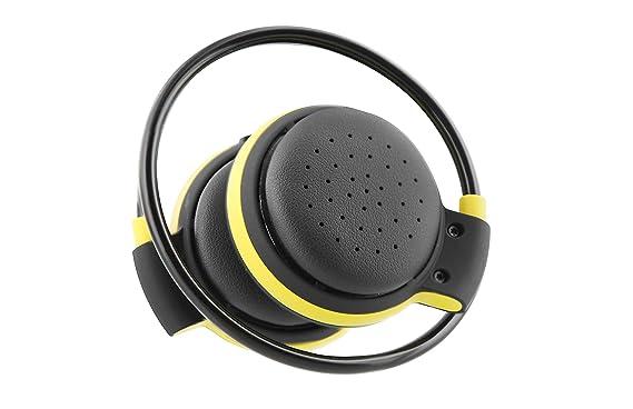 TŽnB Auriculares Deportivos Inalámbricos con Tecnología Bluetooth 4.0, Micrófono y Botones de Control: Amazon.es: Electrónica