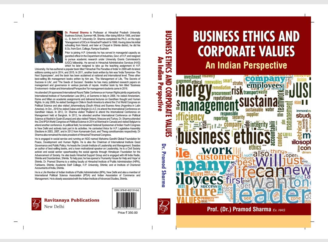 Buy Ravitanaya Publications Business Ethics And Corporate