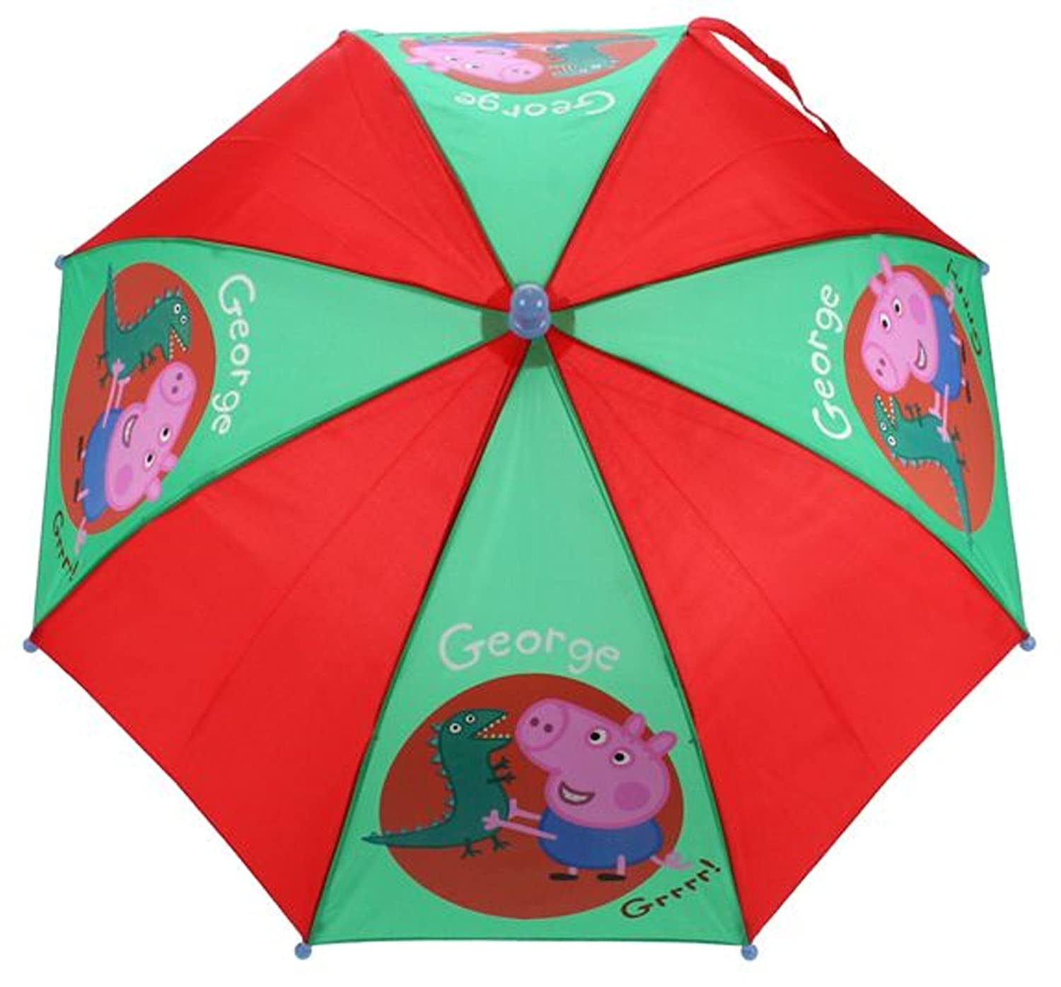 Peppa Pig Parapluie cannes, Red (Rouge) - PEPPA005075